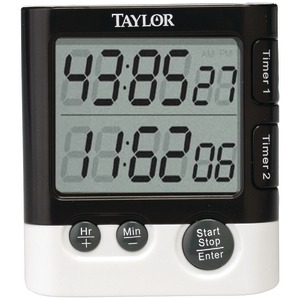 TAYLOR Dual Event Digital Timer-Clock 5828