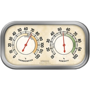 SPRINGFIELD Humidity Meter & Thermometer Combo 90113-1