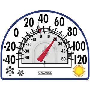 SPRINGFIELD Four Season Window Cling Thermometer 91157
