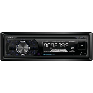 BOSS AUDIO Single-DIN In-Dash MP3-Compatible CD & AM-FM Receiver (with Bluetooth(R)) 508UAB