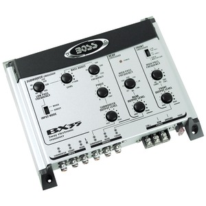 BOSS AUDIO 3-Way Preamp Electronic Crossover BX35