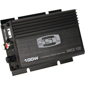 SOUNDSTORM Mini Class AB 2-Channel 100-Watt Amp SMC2.100
