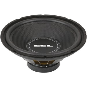 SOUNDSTORM SS Series High-Power Single 4Ω Voice-Coil Subwoofer with Poly-Injection Cone (12 Inch. 800 Watts) SS12