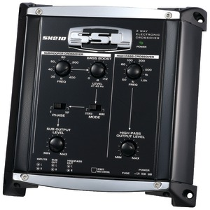 SOUNDSTORM Electronic Crossover with Remote Subwoofer Level Control (2 Way 7.25 Inch.D) SX210