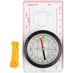STANSPORT Deluxe Liquid-Filled Map Compass 557-P