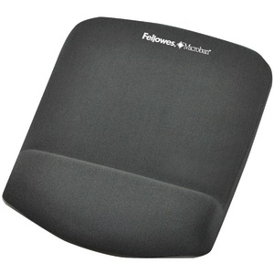 FELLOWES Plush Touch Mouse Pad with Wristrest 9252201