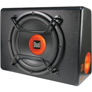 DUAL 12 Inch. Amplified Subwoofer in Tuned Ported Enclosure ALB12