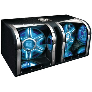 DUAL Dual 12 Inch. Bandpass Subwoofer with Box BP1204