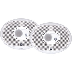 DUAL Poly Marine DMS Series 3-Way Speakers (6 x 9) DMS369