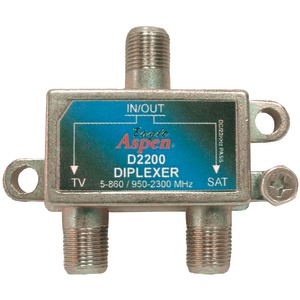 EAGLE ASPEN DIRECTV(R)-Listed Single Diplexer 500249