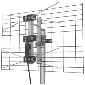 EAGLE ASPEN DIRECTV(R)-Approved 2-Bay UHF Outdoor Antenna DTV2BUHF