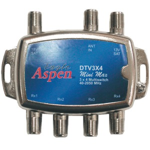 EAGLE ASPEN DIRECTV(R)-Approved 3-In x 4-Out Multi-Switch DTV3X4