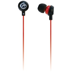 Ecko Chaos 2 Earbuds with Microphone (Red)