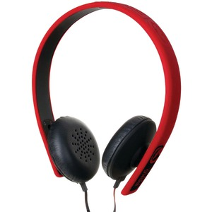 FUSION Headphones with Microphone (Red)