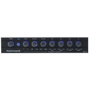 POWER ACOUSTIK Preamp Equalizer PWM-16