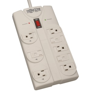 TRIPP LITE 8-Outlet Surge Protector (1440 Joules; 8ft power cord) TLP808