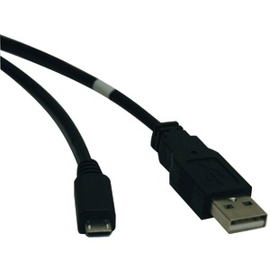 TRIPP LITE A-Male to Micro B-Male USB 2.0 Cable (10ft) U050-010