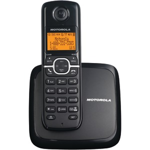 MOTOROLA DECT 6.0 Cordless Phone System with Speakerphone & 3-Line Display (Single-Handset System) L601M