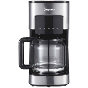 MAGIC CHEF(R) 12-Cup Programmable Coffee Maker MCSCM12SS
