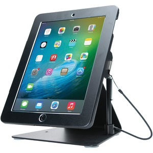 CTA DIGITAL Desktop Anti-Theft Stand (iPad(R), Black) PAD-DASB