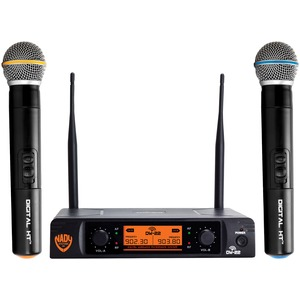 NADY(R) Dual-Transmitter Digital Wireless Microphone System (2 Digital HT(TM) Handheld Microphones) DW-22-HT-ANY