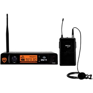 NADY(R) Single-Channel Digital Wireless Microphone System (Digital LT(TM) LM-14/O Lapel Microphone) DW-11-LT-ANY