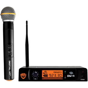 NADY(R) Single-Channel Digital Wireless Microphone System (Digital HT(TM) Handheld Microphone) DW-11-HT-ANY