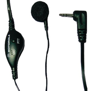 MOTOROLA Earbud with PTT Microphone for Talkabout(R) 2-Way Radios MTR53727B