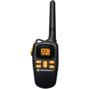 MOTOROLA 20-Mile 2-Way Radio with NOAA Weather MD207R