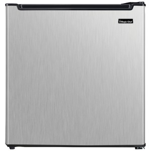 MAGIC CHEF(R) 1.7 Cubic-ft All-Refrigerator (Silver) MCAR170STE