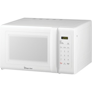 MAGIC CHEF(R) 0.9 Cubic-ft Countertop Microwave (White) MCD993W