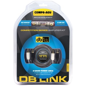 DB LINK Competition Series Amp Installation Kit (8 Gauge, AGU) COMP8-AGU