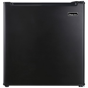 MAGIC CHEF(R) 1.7 Cubic-ft All-Refrigerator (Black) MCAR170BE