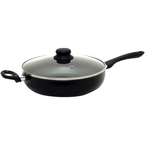 STARFRIT(R) Starbasix 11 inch. Deep Fry Pan with Lid 034410-002-SBA2