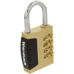 WORDLOCK(R) 4-Dial Combination Sports Lock PL-056-SL