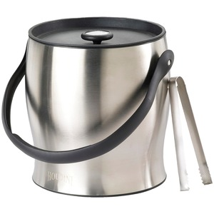 HOUDINI Double-Walled Ice Bucket with Tongs W4710T