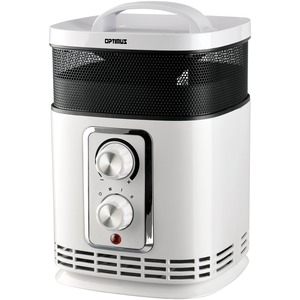OPTIMUS 17 inch. Oscillating Tower Heater with Thermostat H-7232