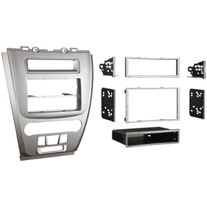 METRA(R) Mounting Kit for Ford(R) Fusion/Mercury(R) Milan 2010-2011, Silver Bezel 99-5821S
