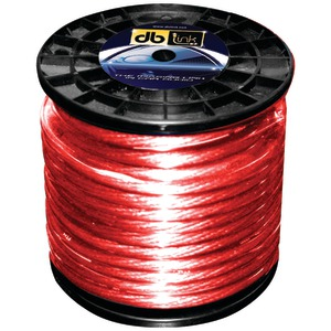 DB LINK Power Series Power Wire (8 gauge Red 250ft) PW8R250Z