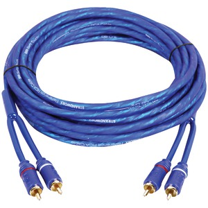DB LINK Soft-Touch Triple-Shielded Blue Strandworx(TM) RCA Adapter (3ft) SR3