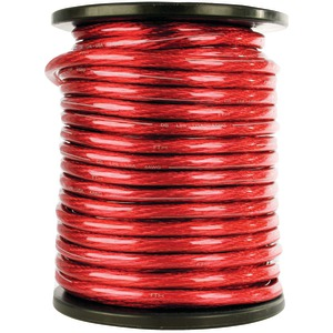 DB LINK Elite Superflex Soft-Touch Power Wire (0 Gauge Red 50ft) STPW0R50Z