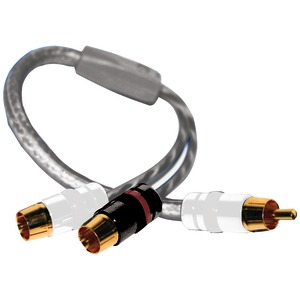 DB LINK 2 Female To 1 Male Twisted-Pair Strandworx(TM) Series RCA Y-Adapter SXY2F