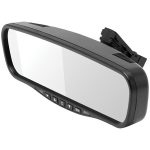 CRIMESTOPPER(TM) MIR-045 4.5 inch. Universal Rearview Mirror MIR-045