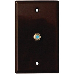 2.4GHz Coaxial Wall Plate (Brown)