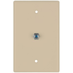 2.4GHz Coaxial Wall Plate (Ivory)