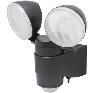MAXSA INNOVATIONS Battery-Powered Motion-Activated Dual-Head LED Security Spotlight 43218
