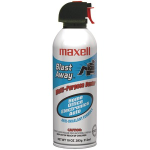 MAXELL Blast Away Canned Air (Single) 190025 - CA3