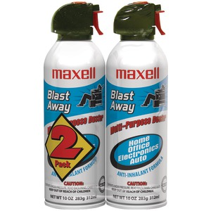 MAXELL Blast Away Canned Air (2 pk) 190026 - CA4
