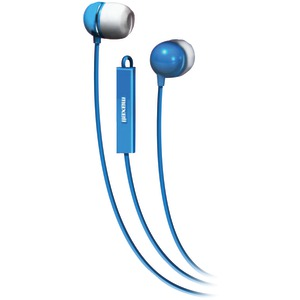 MAXELL Stereo In-Ear Earbuds with Microphone & Remote (Blue) 190301 - IEMICBLU