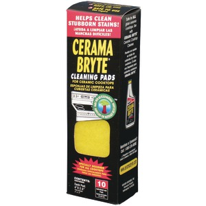 CERAMA BRYTE Ceramic Cooktop Cleaning Pads 10 pk 29106